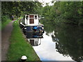 TQ0586 : Lady Helen, canal boat on Grand Union Canal by David Hawgood