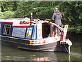 TQ0586 : Karnataka, hotel narrowboat near Denham by David Hawgood