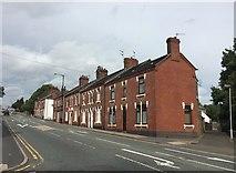 SJ8748 : Hanley: houses on Waterloo Road by Jonathan Hutchins