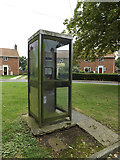 TM1686 : Telephone Box on School Road by Adrian Cable