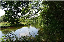 SK0220 : The River Trent near Bishton by Tim Heaton
