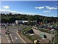 SJ8544 : Royal Stoke University Hospital: view from the bridge (1) by Jonathan Hutchins