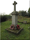 TM1686 : Tivetshall St Margaret War Memorial by Adrian Cable