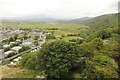 SH5831 : Harlech Castle view by Richard Croft