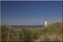 SJ1184 : Sand dunes, Talacre by Geraint Roberts