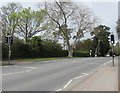 SO9523 : Evesham Road pelican crossing, Cheltenham by Jaggery