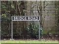 TM1484 : Bridge Road sign by Adrian Cable