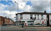 SJ9499 : Mossley Road Post Office by Gerald England