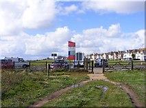 SZ2492 : Coast Car Park by Gordon Griffiths