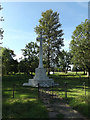 TM0691 : Old Buckenham War Memorial by Adrian Cable