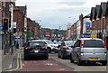 SJ3594 : Traffic on the A59 in Walton, Liverpool by Mat Fascione