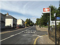 TM0595 : B1077 Station Road, Attleborough by Adrian Cable