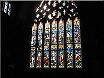 TF2935 : Algakirk Church stained glass window by Alex McGregor