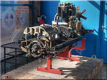 SJ8397 : Museum of Science and Industry: Royce Car Engine by David Dixon