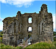 SO2980 : The Great Tower, Clun castle by Philip Pankhurst