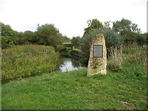 SU1093 : The River Thames leaving Cricklade by David Purchase
