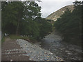 NY3816 : Repaired track by Glenridding Beck by Karl and Ali