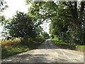 TM0991 : Folly Lane, Carleton Road by Adrian Cable