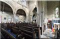 TF0043 : Interior, St Mary's church, Wilsford by J.Hannan-Briggs