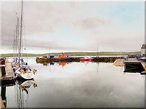 HU4741 : Lerwick Small Boat Harbour by David Dixon