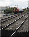 SO9322 : Siding on the south side of Alstone Lane level crossing, Cheltenham by Jaggery