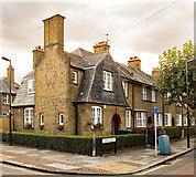 TQ3390 : End of terrace house, Risley Avenue, Tower Gardens Estate by Julian Osley