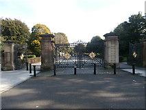 SJ3688 : Gateway to Princes Park, Liverpool by John Lord