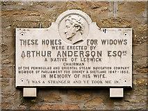 HU4841 : Anderson homes (Plaque) by David Dixon