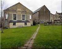 SO8700 : Path through a Minchinhampton churchyard by Jaggery
