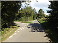TM1491 : Low Road, Bunwell Hill by Adrian Cable