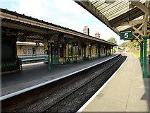 TQ3729 : Platforms at Horsted Keynes Railway Station by PAUL FARMER