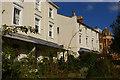 SP3166 : Regency houses on Binswood Avenue, Leamington Spa by Christopher Hilton