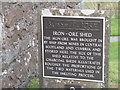 NN0131 : The Iron-ore Shed at Bonawe by M J Richardson