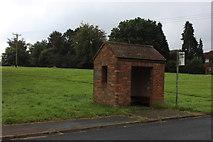 SU9395 : Winchmore Hill bus shelter by Robert Eva