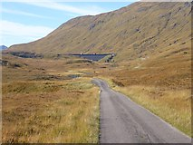 NH0801 : The road to Loch Quoich by Oliver Dixon
