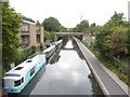TQ2883 : Houseboats on the Regent's Canal north of Regent's Park by Rod Allday