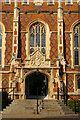 SP3166 : Entrance to Binswood Hall, Binswood Avenue, Leamington Spa by Christopher Hilton