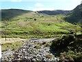 SN8174 : Looking down a feeder stream to the River Ystwyth by Derek Voller