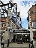 SJ4066 : Chester: entrance to Grosvenor Shopping Centre off Eastgate Street by Jonathan Hutchins
