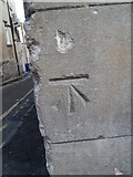 ST7565 : Benchmark on St Michael's Church House on Walcot Street, Bath by Meirion