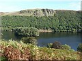 SN8967 : View from the B4518 road through the Elan Valley, Wales by Derek Voller