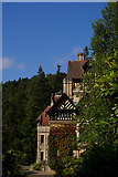 NU0702 : Cragside House from the south by Christopher Hilton