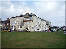 TM5075 : Houses on Constitution Hill, Southwold by JThomas