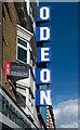 TQ2883 : Odeon cinema sign, Camden Town by Julian Osley