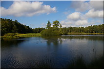 NU0702 : Nelly's Moss Lakes (upper), Cragside estate by Christopher Hilton