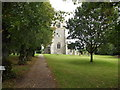 TM1085 : St.Mary's Church, Winfarthing by Adrian Cable