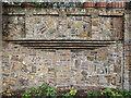 TQ3183 : Interesting Brickwork by Regents Canal, Islington, London by Christine Matthews