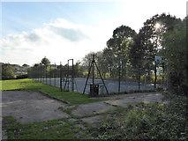 SJ8149 : Wood Lane: sports court by Jonathan Hutchins