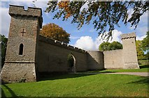 SO4565 : Gothic Curtain Wall, Croft Castle by Philip Halling