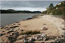 NX8354 : Cockle beach, Kippford by Richard Sutcliffe